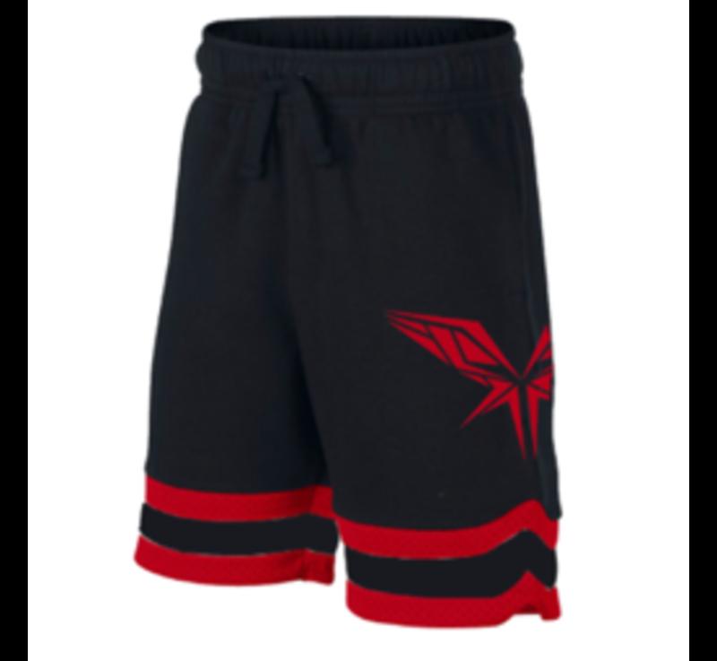 Radical black/red shorts